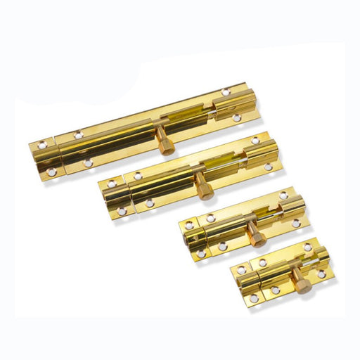 Brass Slide Door Latch