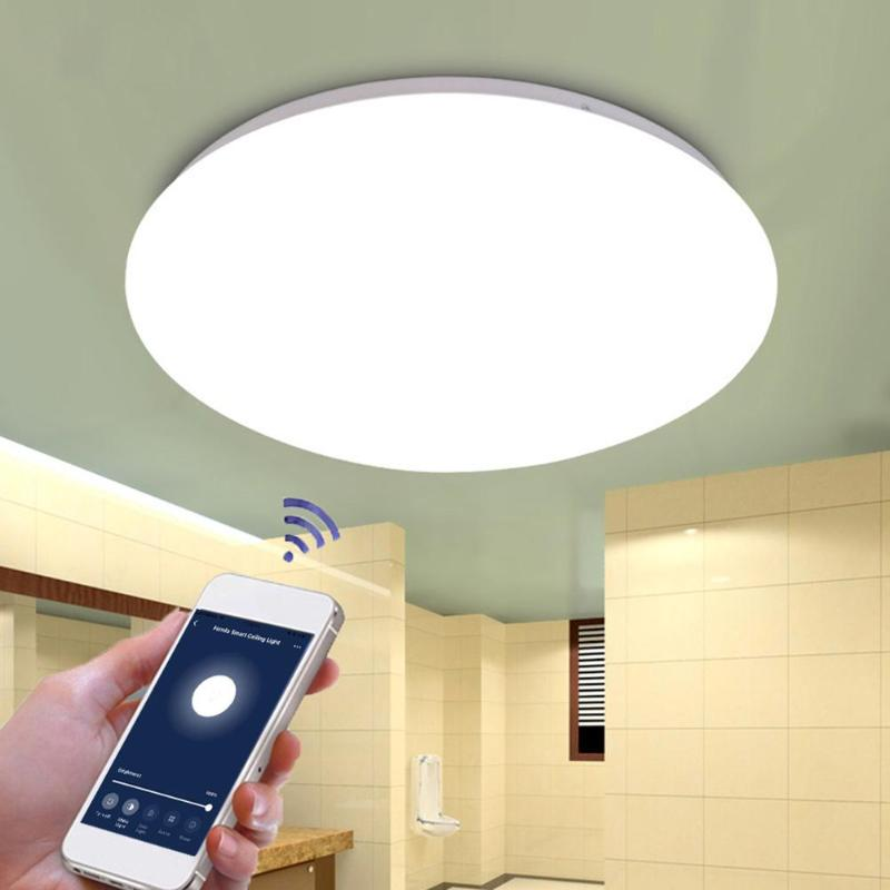 48W Smart LED Ceiling Lamp WiFi/Remote/Voice Control