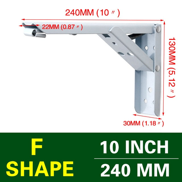 Triangle Folding Angle Bracket (2pc)