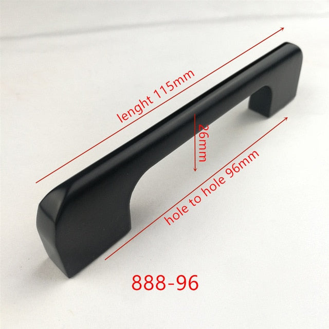 Black Cabinet Handles Collection