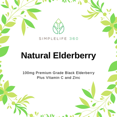 NATURAL ELDERBERRY GUMMY - 90 COUNT - SimpleLife360