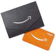 Load image into Gallery viewer, Amazon.com: Amazon.com Gift Card in a Mini Envelope (Black): Gift Cards