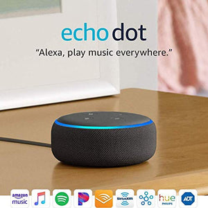 Echo Dot (3rd Generation) | Alexa-enabled Bluetooth Speaker