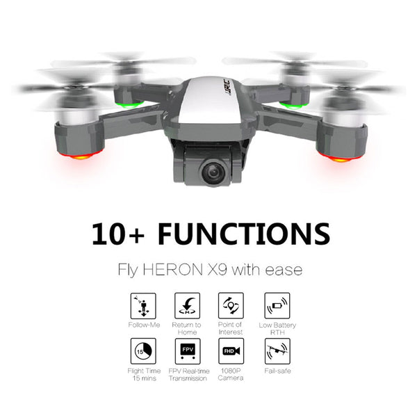 5G GPS 1080P WiFi camera FPV jjrc x9 RC Drone Brushless motor Optical Flow Altitude Hold Quadcopter Remote Control Helicopters