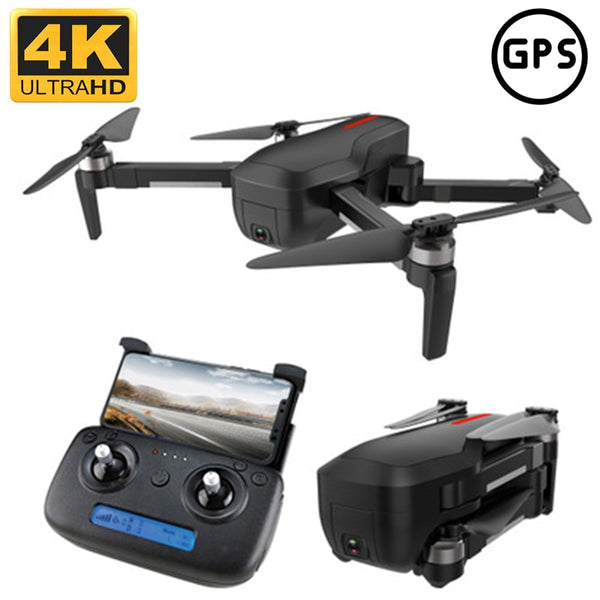 CSJ X7 folding GPS drone 4K HD 5G screen transmission brushless Quadcopter intelligent follow Rc helicopter professional drone