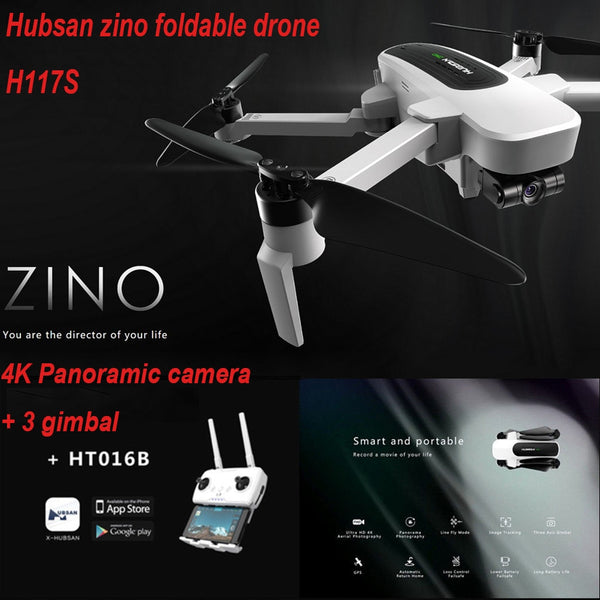 Shop owner recommended Drone 2019 Hubsan Zino H117S Quadcopter Drone 4K Camera GPS WIFI FPV Waypoint 3 Axis Gimbal Drone