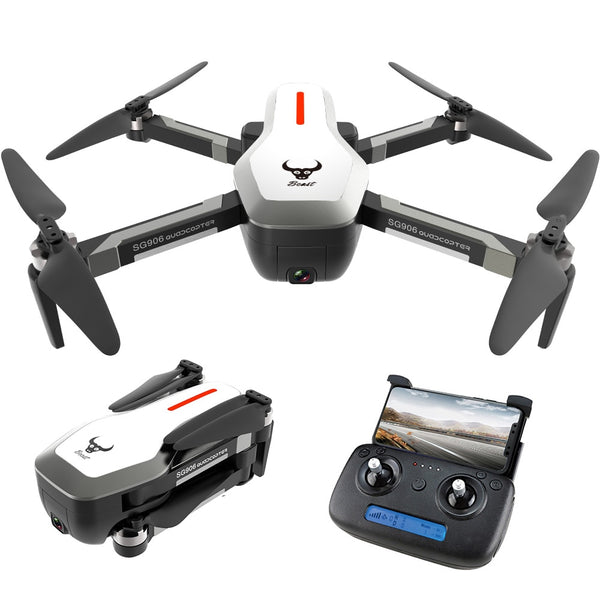 5G Wifi FPV GPS Foldable Drone With 4K Camera HD 120° Wide Angle 500m Distance Brushless Drone 25mins Flight Time RC Quadcopter