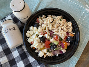 Greek Salad with Chicken (GF)