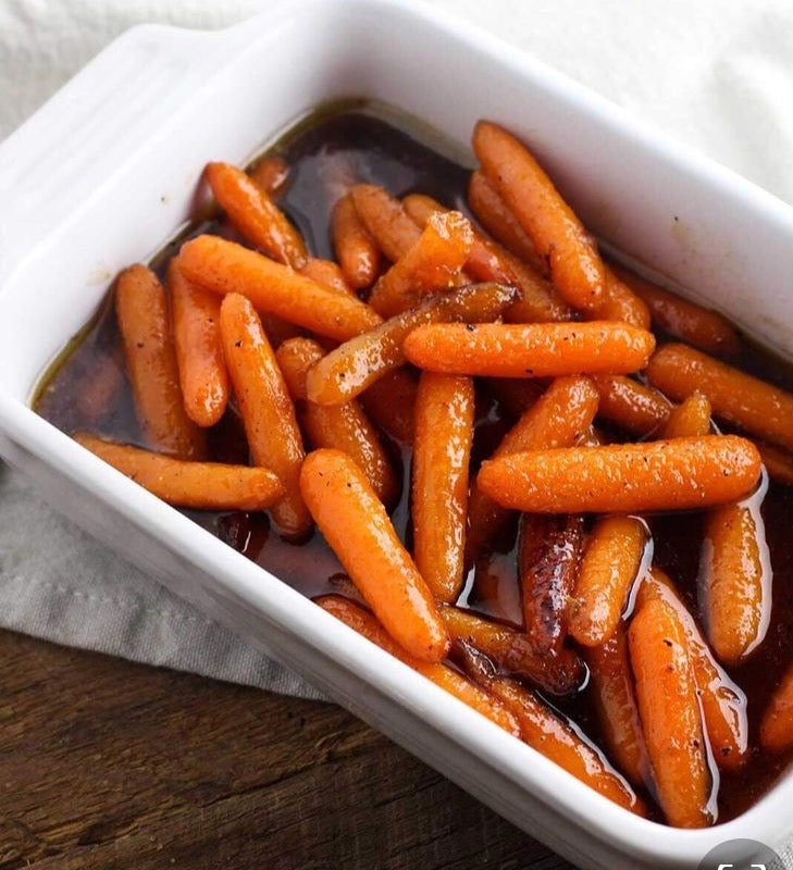 Honey Braised Carrots (GF, VEG)