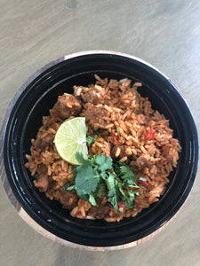 Spanish Rice Bowl with Sausage (GF)