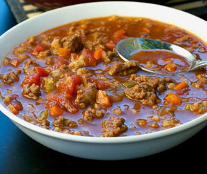 Hamburger Soup (GF,DF)