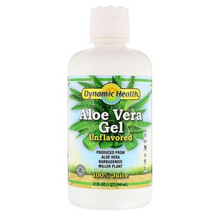 Dynamic Health Laboratories, Aloe Vera Gel, 100% Juice, Unflavored, 32 fl oz (94