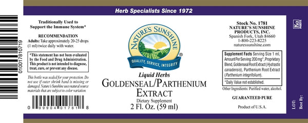Golden Seal/Parthenium Extract (2 fl. oz.)