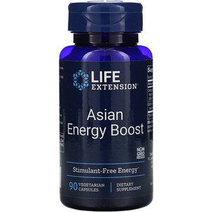 Life Extension, Asian Energy Boost, 90 Vegetarian Capsules