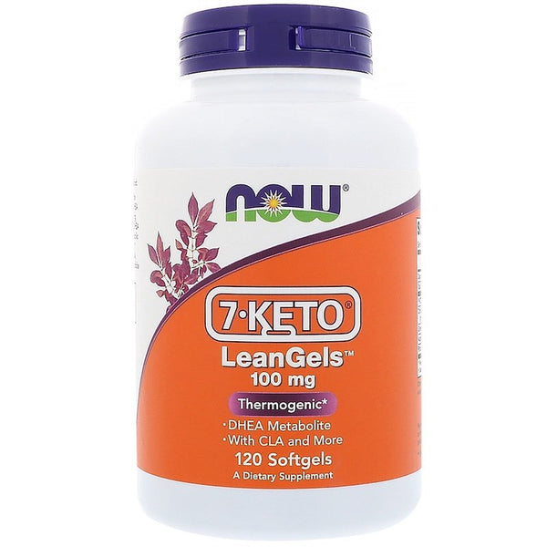 Now Foods, 7-Keto LeanGels, 100 mg, 120 Softgels (Keto)