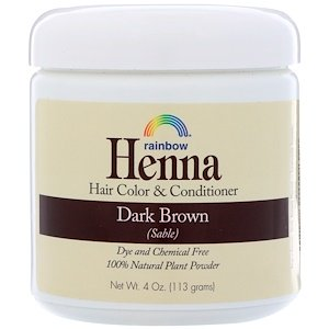 Rainbow Research, Henna, Hair Color and Conditioner, 4 oz (113 g)