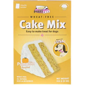 Puppy Cake, Wheat-Free Cake Mix, For Dogs, Peanut Butter Flavored, 9 oz (255 g)