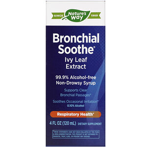 Nature's Way, Bronchial Soothe, Ivy Leaf Extract, 4 fl oz (120 ml)