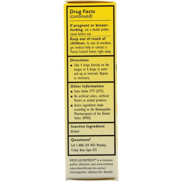 Bach, Original Flower Remedies, Rescue Remedy, Natural Stress Relief, 0.7 fl oz (20 ml)