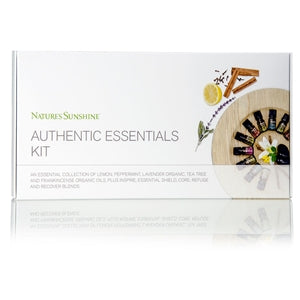 Authentic Essential Oils Kit (10 Oils, 5 ml Each)