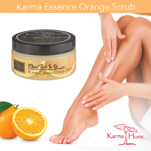 ESSENCE ORANGE SCRUB 2