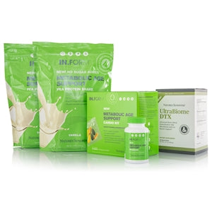 IN.FORM Metabolic Age Support Maintenance Kit - Pea Protein, Vanilla, No Sugar Added