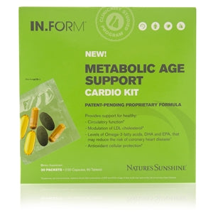 IN.FORM Metabolic  Age Support System –  Pea - No Sugar Added