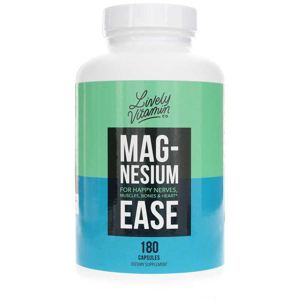Lively Vitamin Co Magnesium Ease 180 Capsules
