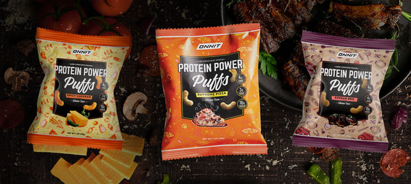 Protein Power Puffs (Box of 8)