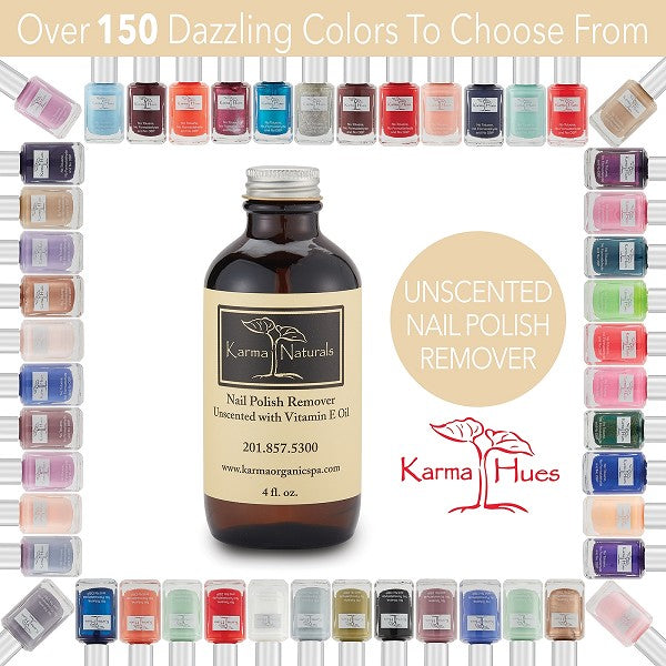 Unscented Nail Polish Remover with Vitamin E Oil