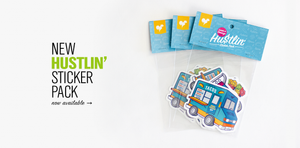 Hustlin Sticker Pack