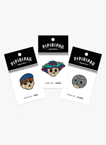 Calaveras Vol 2 (Pins)