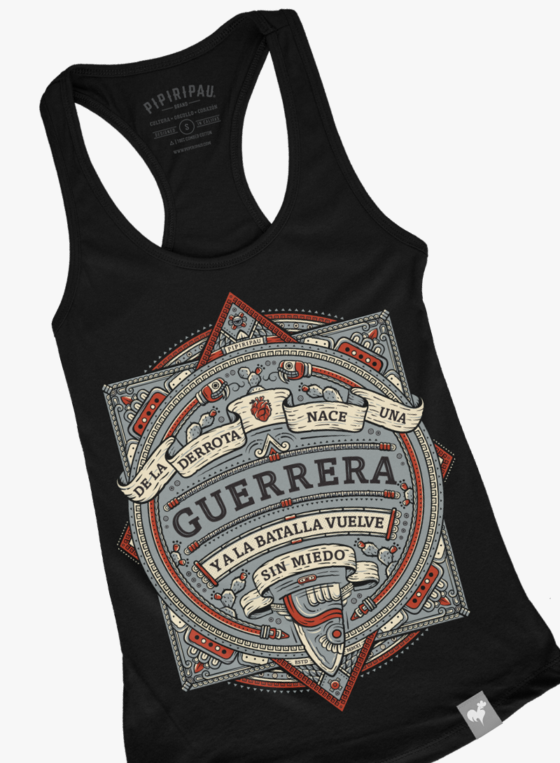 Guerrera (Ladies Tank-Top)