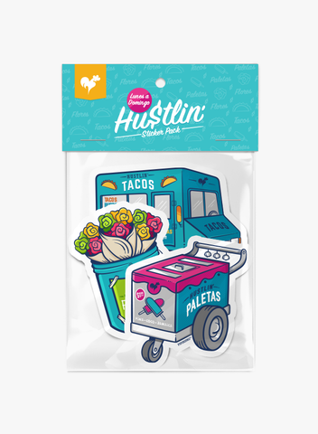 Hustlin' (Sticker Pack)