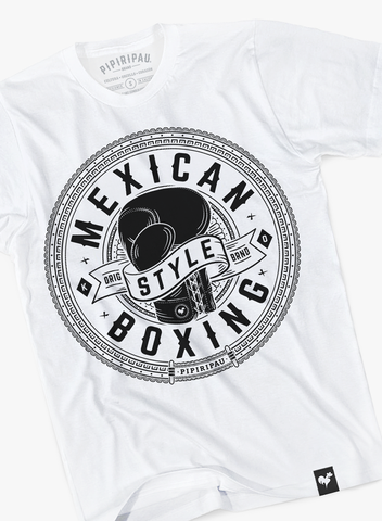 Mexican Style Boxing (White)
