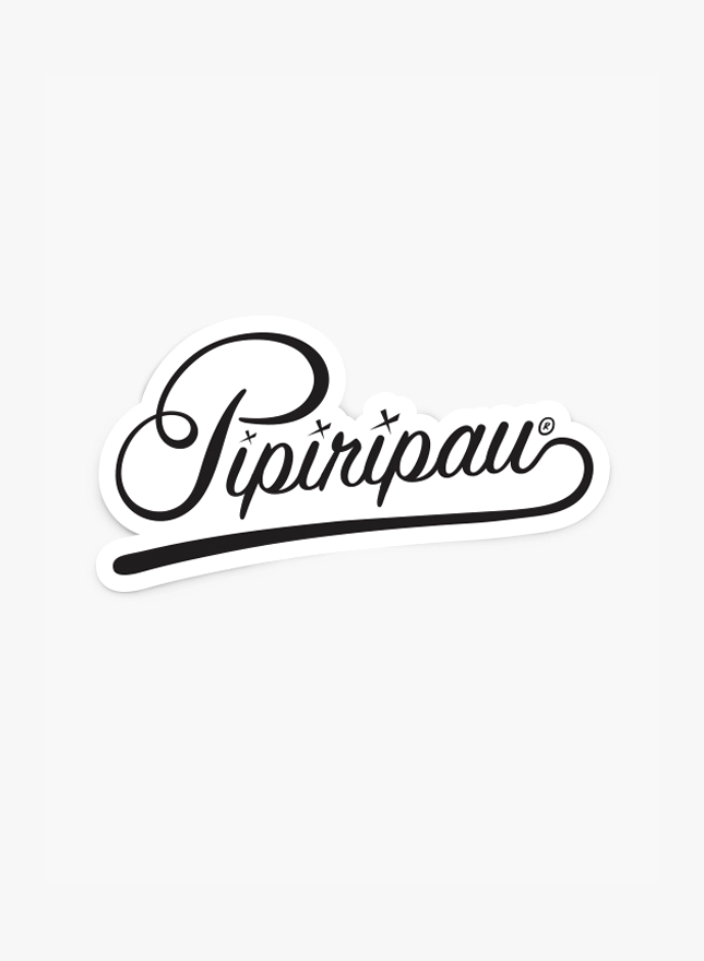 Pipiripau Script (Sticker Pack)