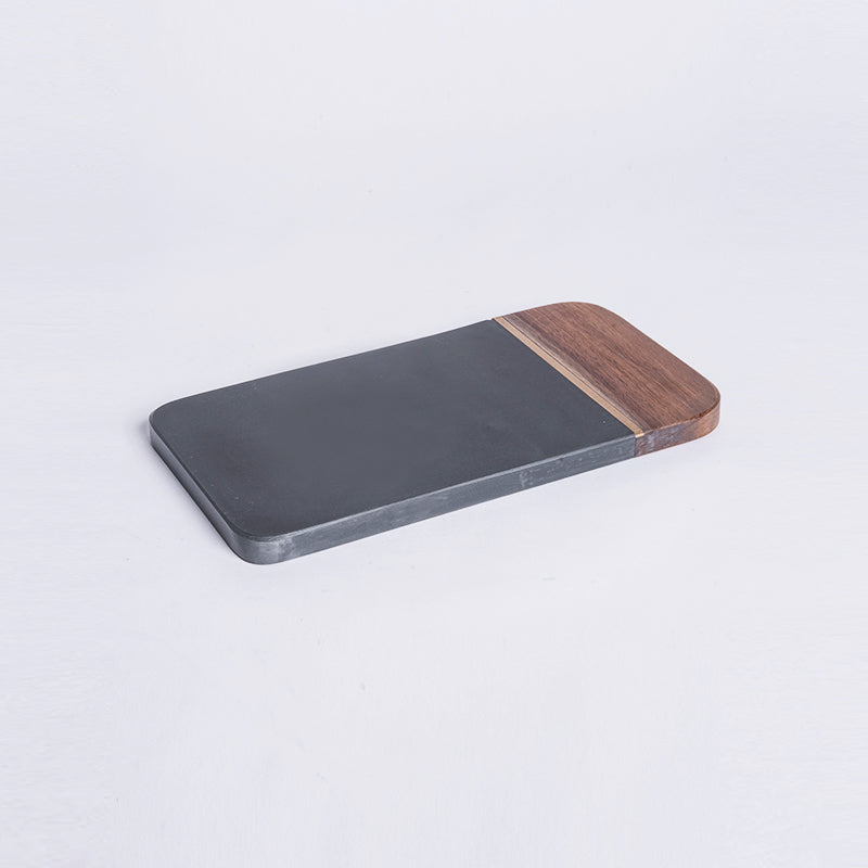 Black Wooden Tray