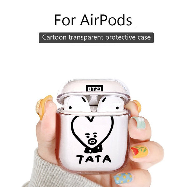 BT21 X TATA AirPods Case