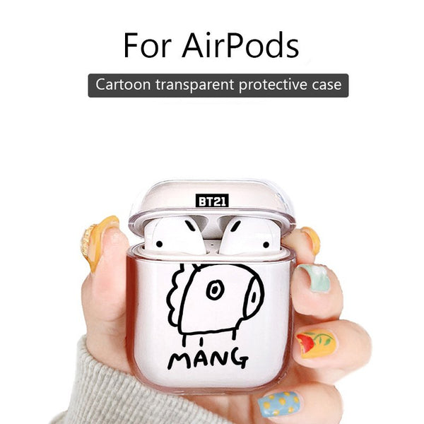 BT21 X MANG AirPods Case