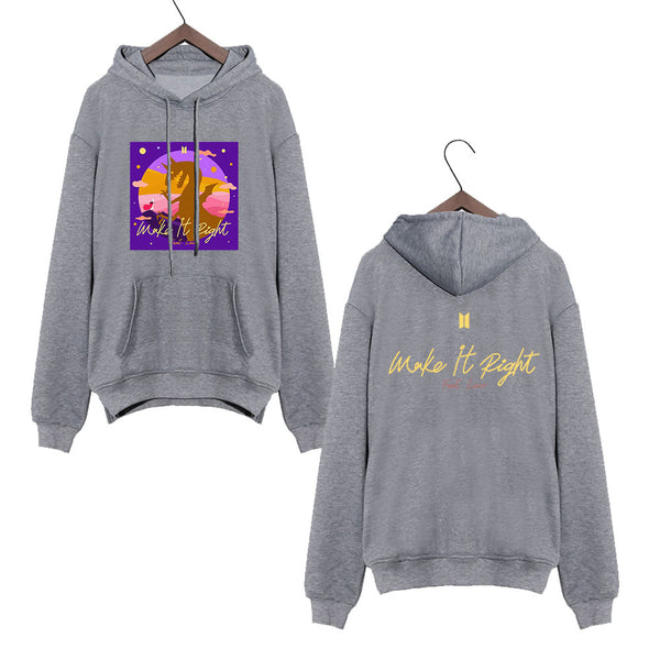 BTS X Make It Right HOODIE SWEATSHIRTS - BT21 Store | BTS Shop