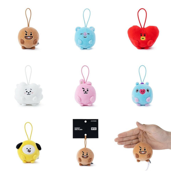 BT21 X PONGPONG Mini Standing Doll - BT21 Store | BTS Online Shop