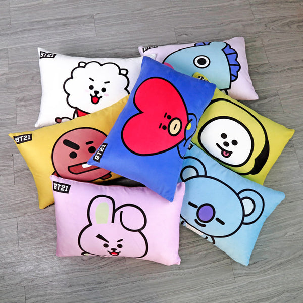 BT21 X  Pillow Case - BT21 Store | BTS Online Shop