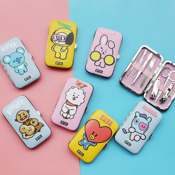 BT21 X Nail clipper set - BT21 Store | BTS Online Shop