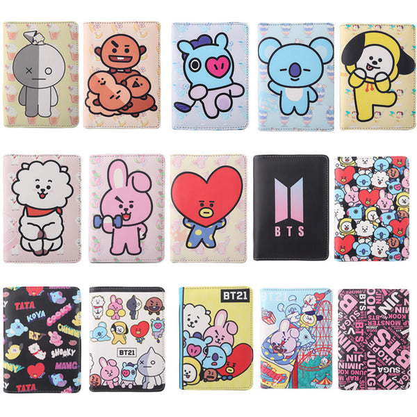 BT21 X Passport/Card Holder - BT21 Store | BTS Online Shop
