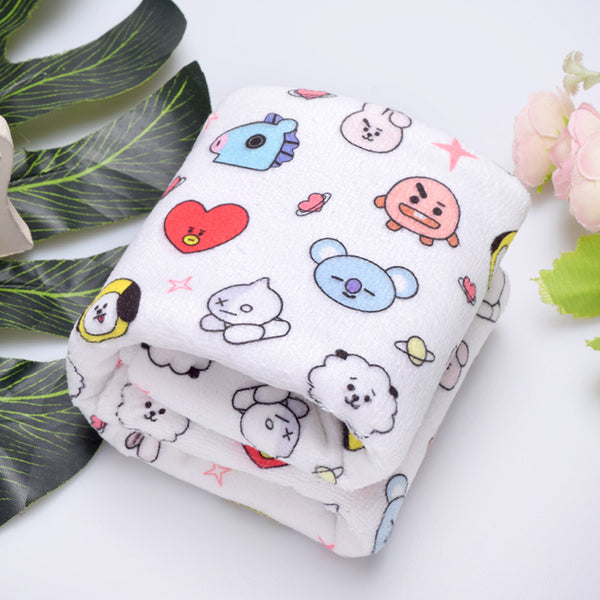 BT21 X Face towel