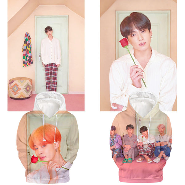BTS X MAP OF THE SOUL:7 Hooded sweater