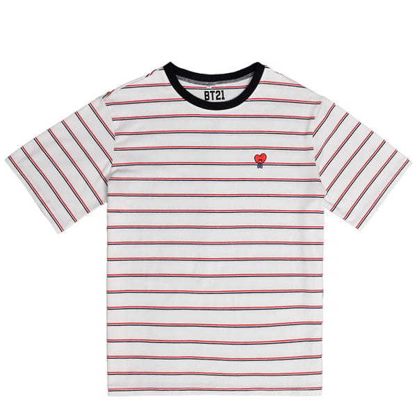 BT21 X TATA Basic Stripe T-Shirt