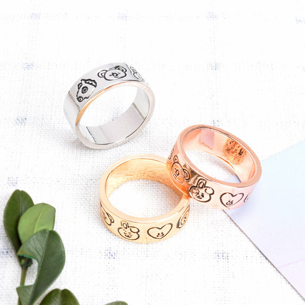 BT21 X Alloy ring - BT21 Store | BTS Shop