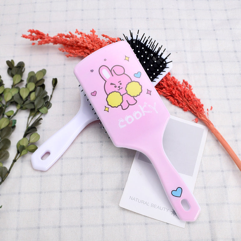 BT21 X COOKY CHIMMY TATA Hair Brush - BT21 Store | BTS Online Shop
