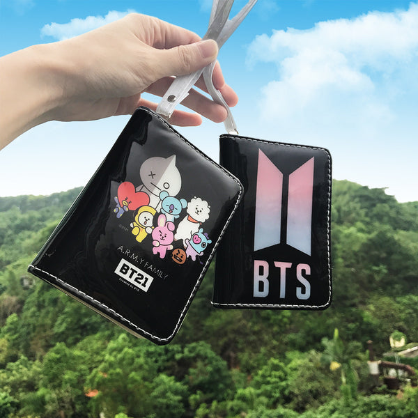 BTS X Card Holder Wallet - BT21 Store | BTS Online Shop
